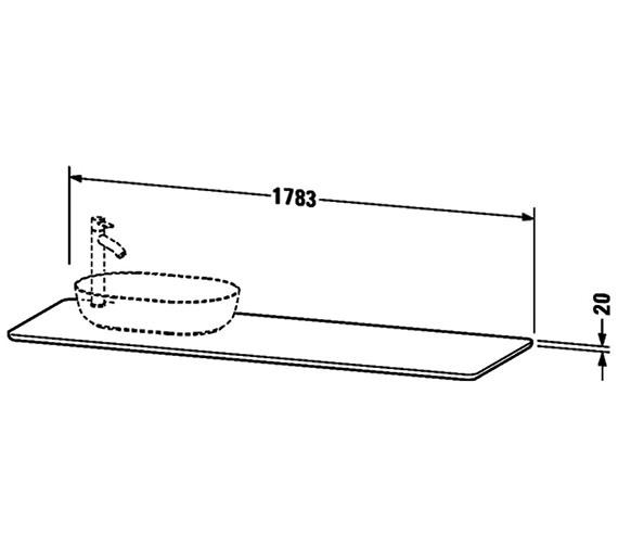 Technical drawing QS-V33290 / LU9468L1717