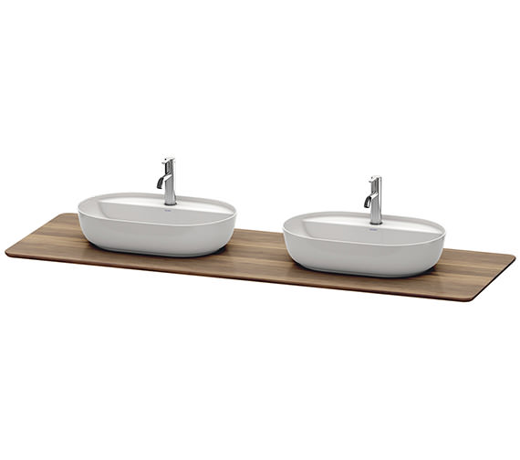 Duravit Luv 1783 x 595mm 2 Cut-Out Real Wood Massive Console