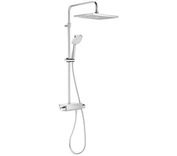 Roca Deck Thermostatic Shower Column With Square Head