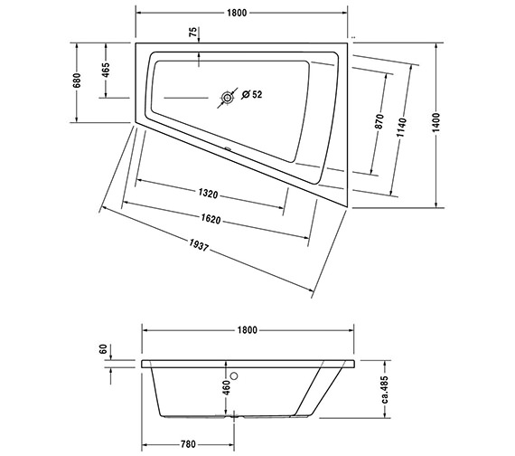 Technical drawing QS-V43756 / 700217000000000