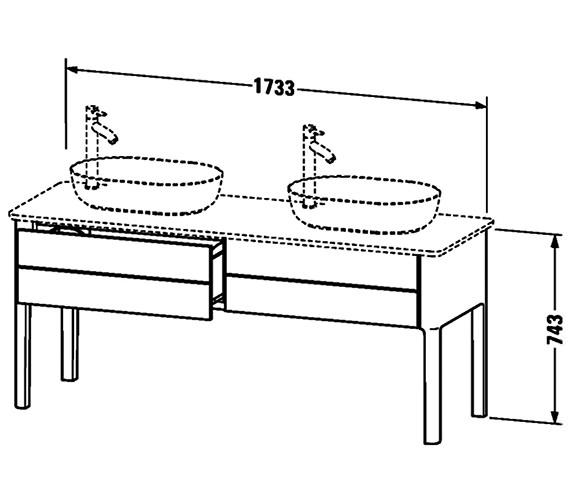 Technical drawing QS-V33293 / LU9562B3636