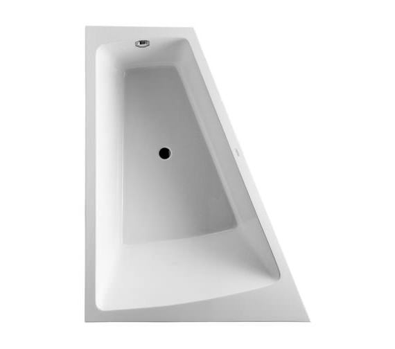 Additional image of Duravit Paiova 1800 x 1400mm Right-Left Backrest Slope Bath With Panel And Frame