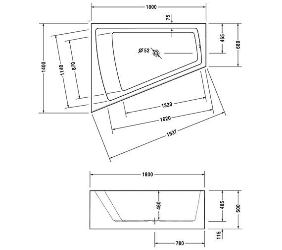 Additional image for QS-V21142 Duravit - 700269000000000