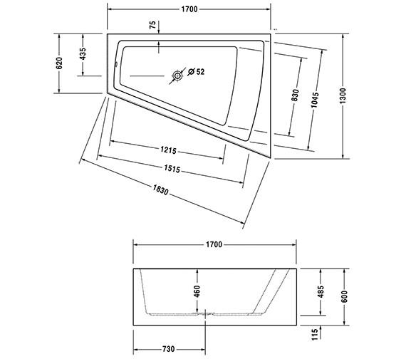 Technical drawing QS-V21141 / 700267000000000