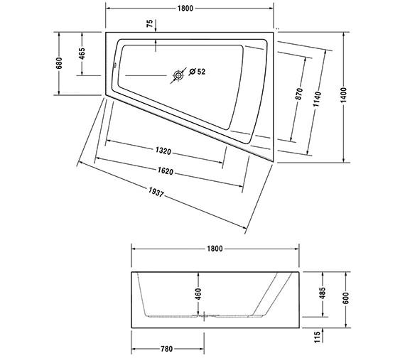 Technical drawing QS-V21143 / 700269000000000