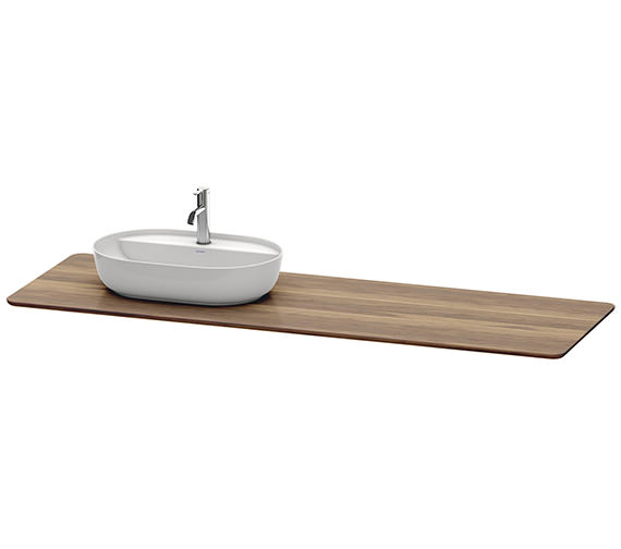 Duravit Luv 1783 x 595mm Left Hand 1 Cut-Out Real Wood Massive Console