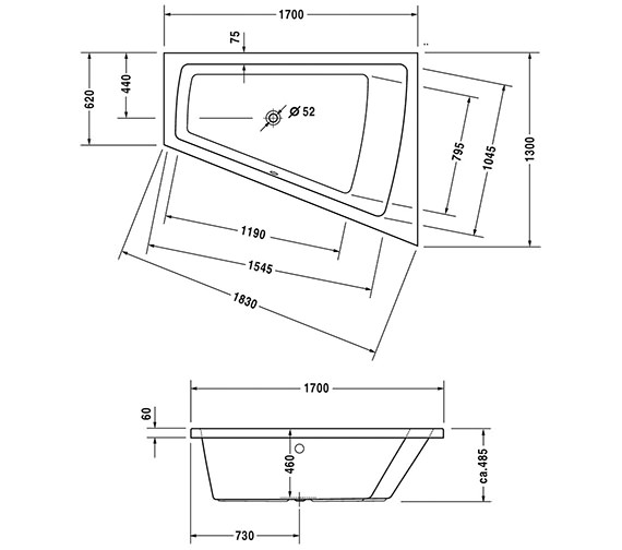 Technical drawing QS-V43715 / 700227000000000