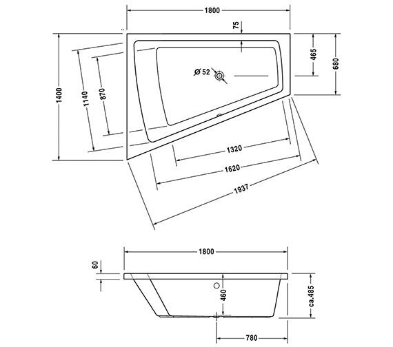 Technical drawing QS-V43732 / 700228000000000