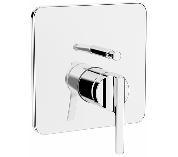 VitrA Suit Chrome Built-In Bath Shower Mixer Valve - V-Box - Exposed Part