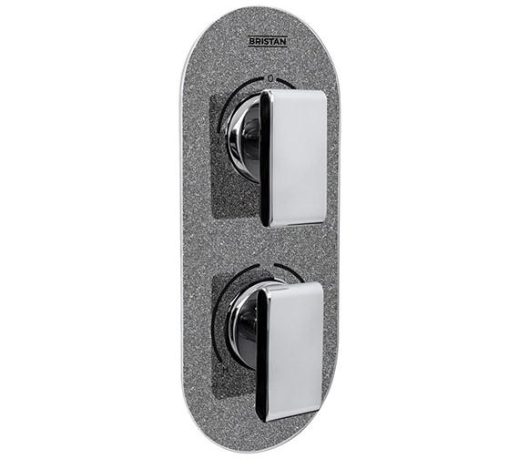 Pivot Control Valve : Bristan metallix pivot concealed dual control thermostatic