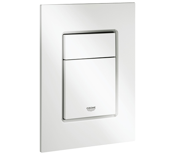 Additional image of Grohe Skate Cosmopolitan Chrome Small Flush Plate
