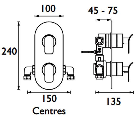 Technical drawing QS-V88344 / ALP SHCDIV C