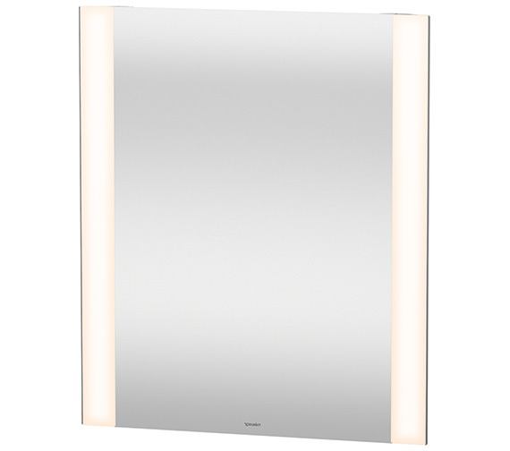 Duravit 700mm Height Dual Light LED Mirror With Defog System