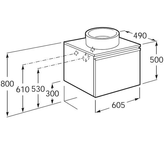 Technical drawing QS-V9185 / 856914321