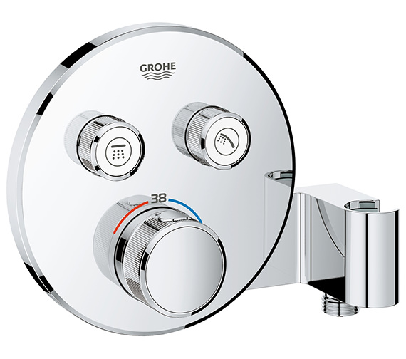 Grohe Grohtherm SmartControl Thermostat With 2 Valve And Shower Holder