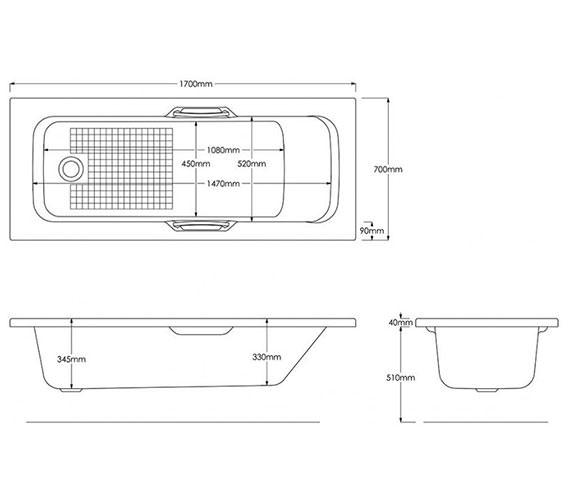 Technical drawing QS-V59898 /