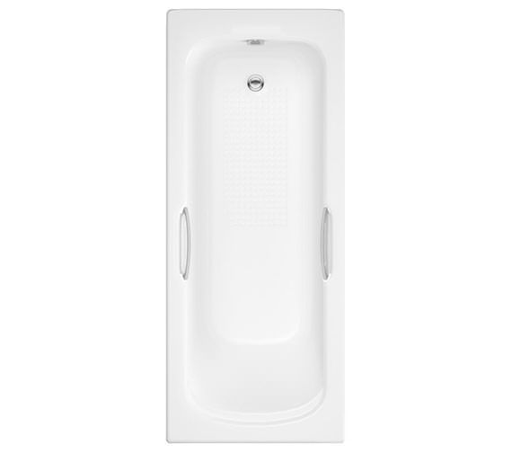 Trojan Granada II Twin Grip 8mm 2 Taphole Single Ended Bath 1500 x 700mm