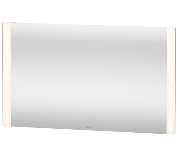 Alternate image of Duravit 700mm Height 20W Dual Light LED Mirror
