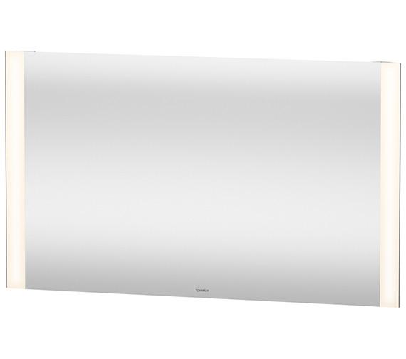 Duravit 1200 x 700mm 20W Dual Light LED Mirror With Sensor Switch