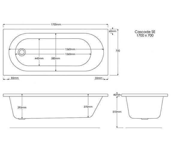 Technical drawing QS-V0007 / B692