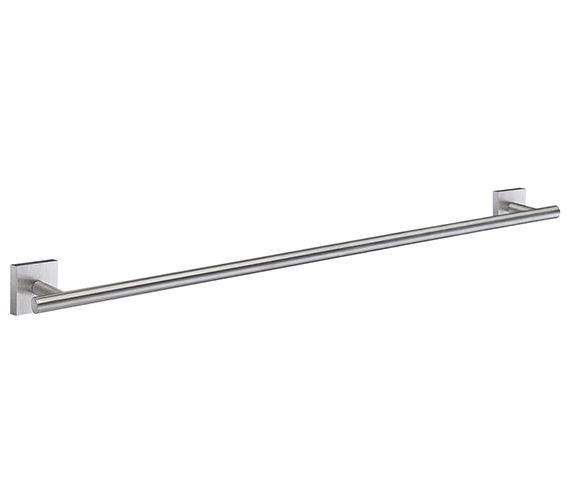 Additional image of Smedbo House 648mm Polished Brass Single Towel Rail - More Finishes Available