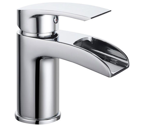 Bristan Glide Waterfall Chrome Basin Mixer Tap