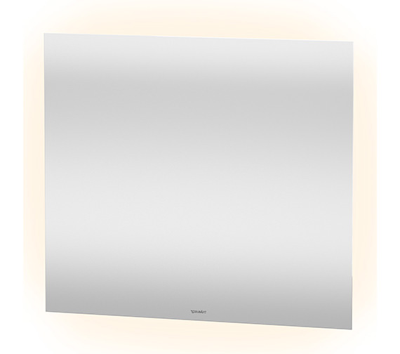 Duravit 800 x 700mm 42W 4 Sided Ambient Light LED Mirror With Sensor Switch