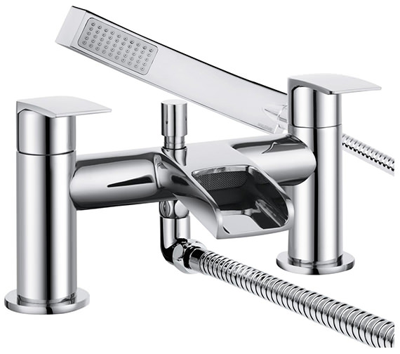 Bristan Glide Waterfall Bath Shower Mixer Tap