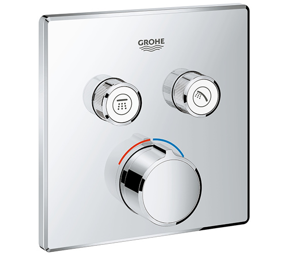 Grohe SmartControl Concealed Mixer With 2 Valve