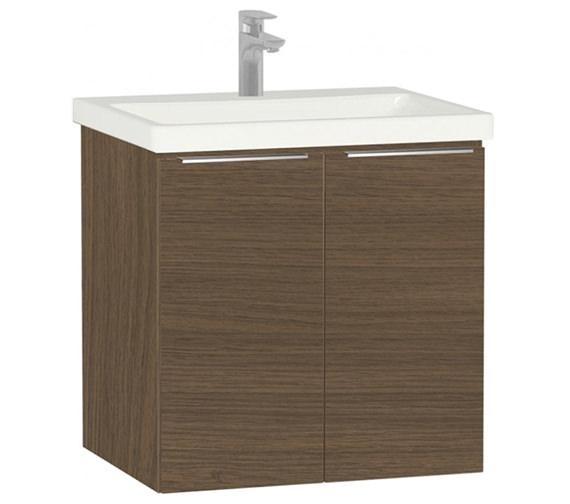 Additional image of VitrA Ecora 2 Door Wall Mounted Vanity Unit With Washbasin
