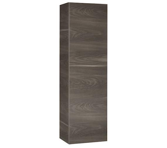 Alternate image of Roca Stratum-N 409 x 1400mm 1 Door Column Unit Gloss White - Textured Yosemite Finishes Available