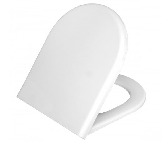 VitrA Form 300mm White Toilet Seat And Cover