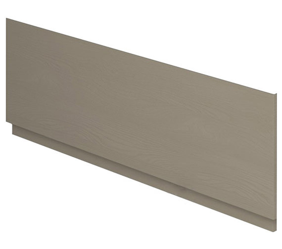 Additional image of Essential Vermont MDF 1700mm Front Bath Panel Dark Grey