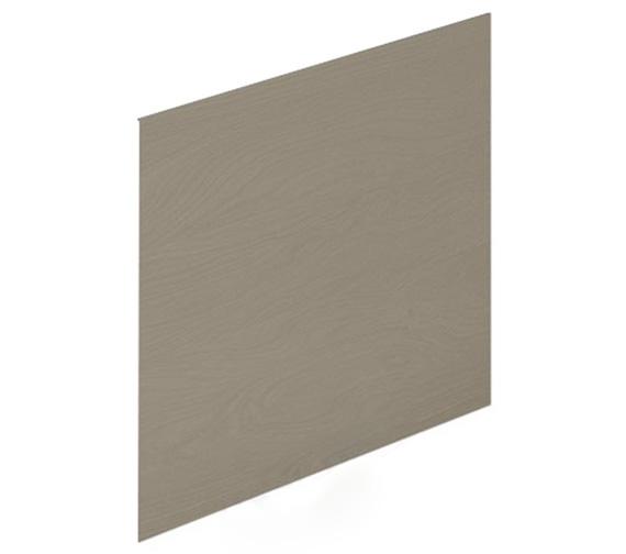Alternate image of Essential Vermont MDF 700mm End Bath Panel Dark Grey