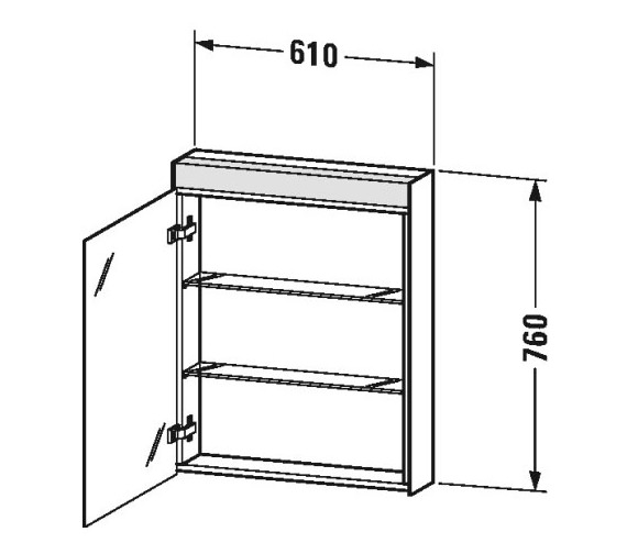 Technical drawing QS-V80765 / LM7820L0000