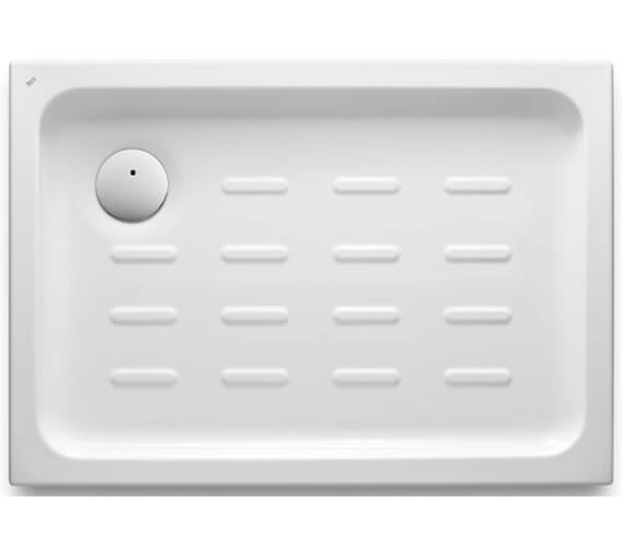 Roca Easy 65mm Height Acrylic Shower Tray With Waste And Anti-slip Base