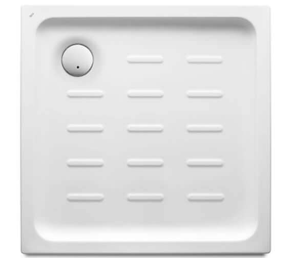 Roca Easy 750 x 750mm Acrylic Shower Tray With Waste And Anti-slip Base