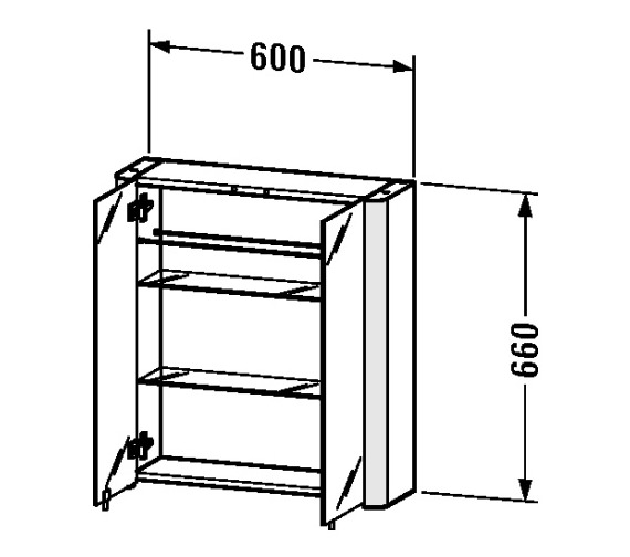 Technical drawing QS-V52996 / LM977003737