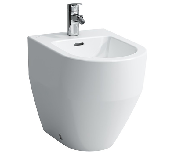 Laufen Pro White Floorstanding Bidet With 1 Tap Hole