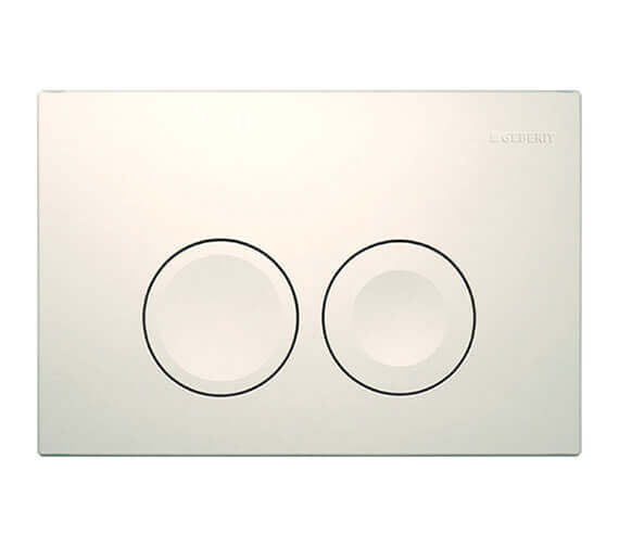 Geberit Delta21 246 x 164mm Dual Flush Plate
