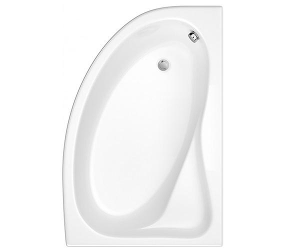 Trojan Classic White Right Hand Offset Corner Bath 1535 x 1005mm - NTH