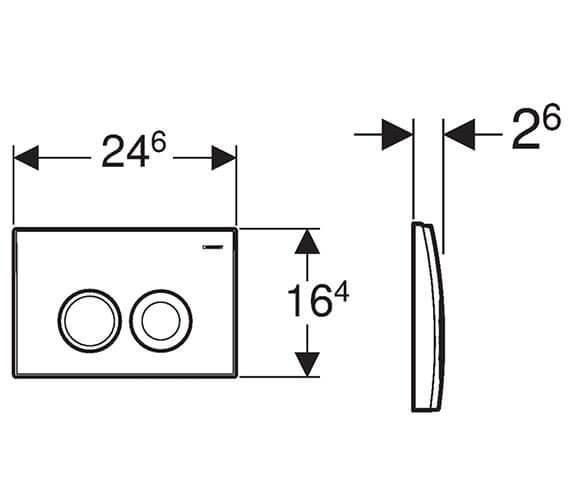 Technical drawing QS-V93542 / 115.125.11.1