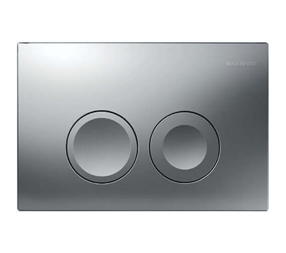 Additional image of Geberit Delta21 246 x 164mm Dual Flush Plate