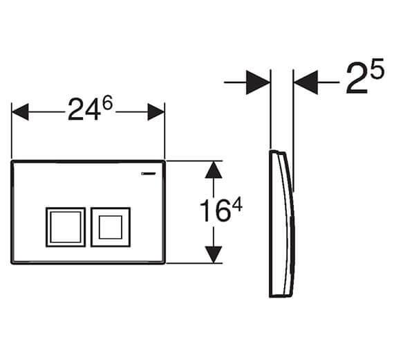 Technical drawing QS-V93543 / 115.135.11.1