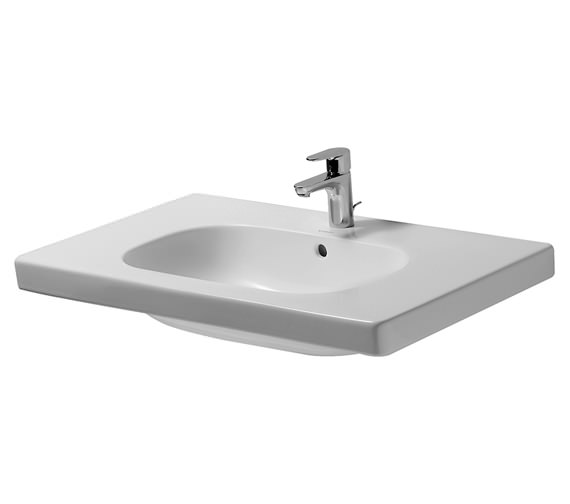 Duravit D-Code 850mm Washbasin Without Tap Hole