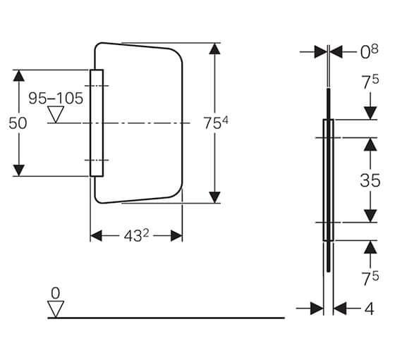 Technical drawing QS-V93545 / 115.211.CD.1