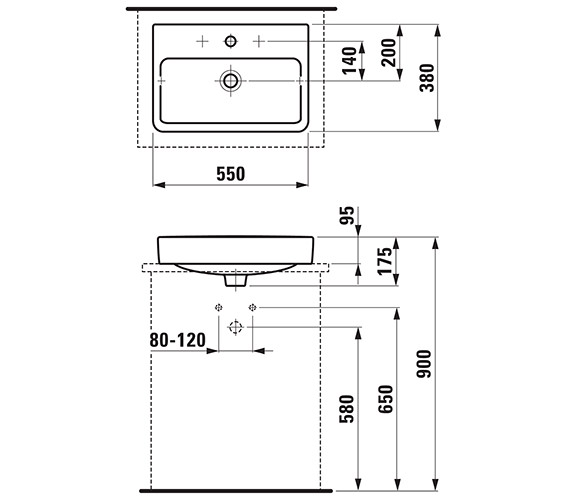 Technical drawing QS-V41928 / 12952WH