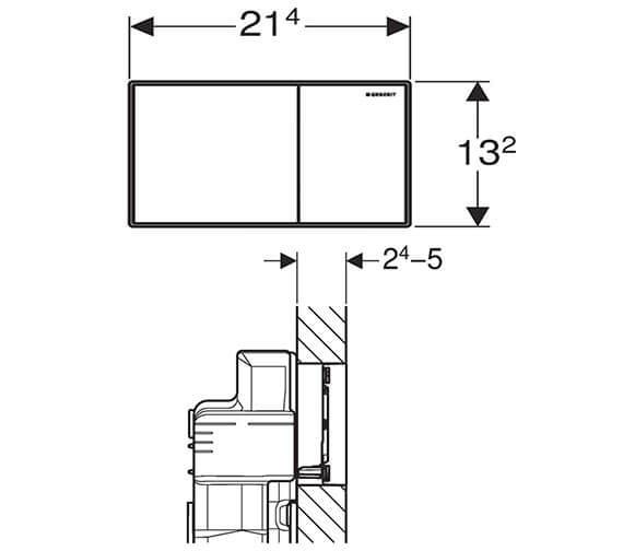 Technical drawing QS-V93553 / 115.640.SI.1