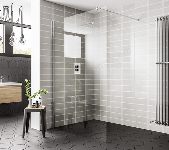 Essential Spring Wetroom Panel 760 x 2000mm
