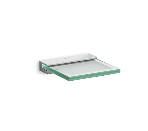 Roca Nuova Wall Mounted 110 x 115 x 19mm Glass Soap Dish